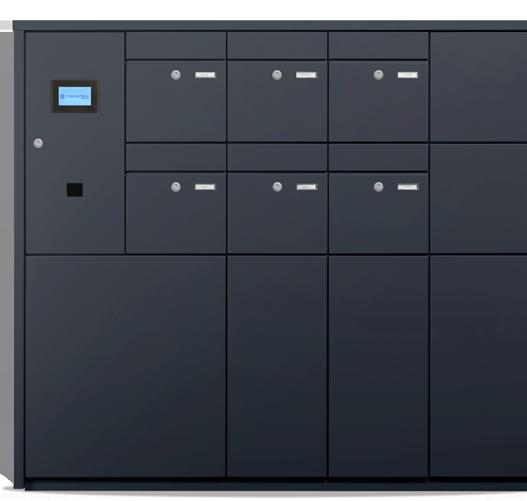 Mysmartbox Packetfachanlage