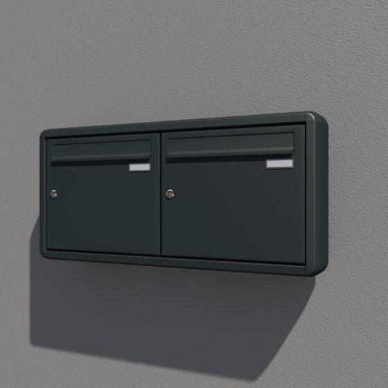 Briefkasten für die Aufputz und Freistehende Montage