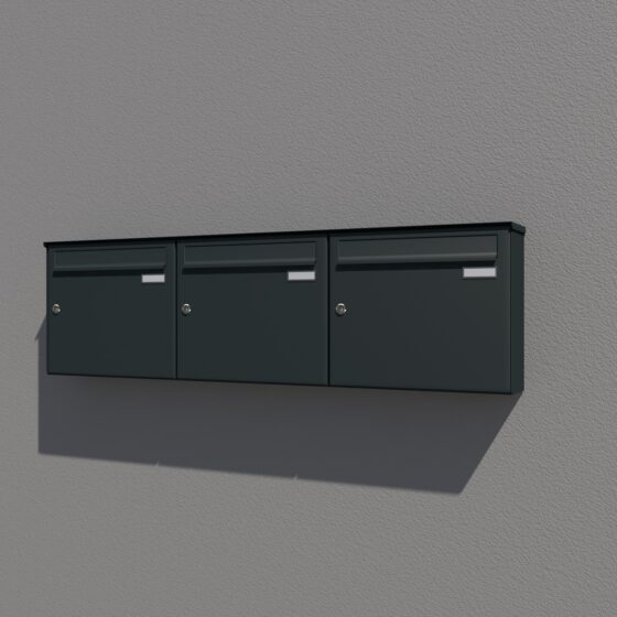 Boîte aux lettres pour installation en surface ou autoportante