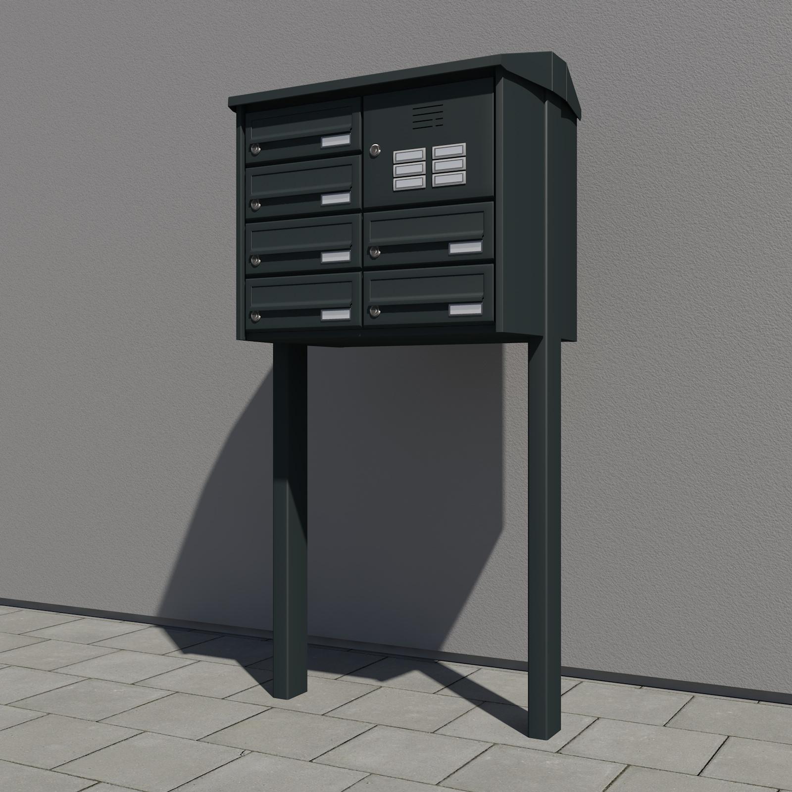 Boîte aux lettres pour montage autonome