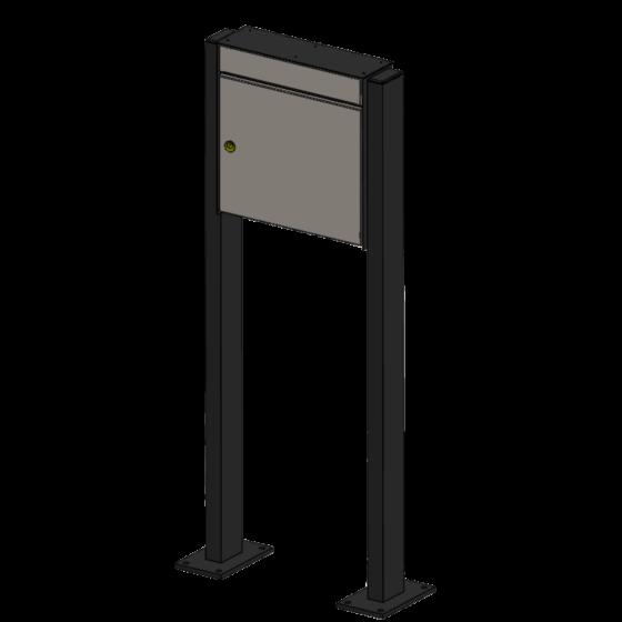 Briefkasten Premium mit Ständer